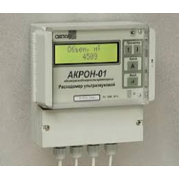 Стационарный расходомер ультразвуковой АКРОН 01 с накладными излучателями